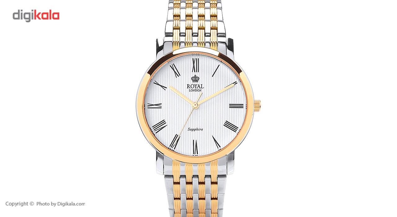 ساعت مچی عقربه ای مردانه رویال لندن مدل RL-41265-08 49