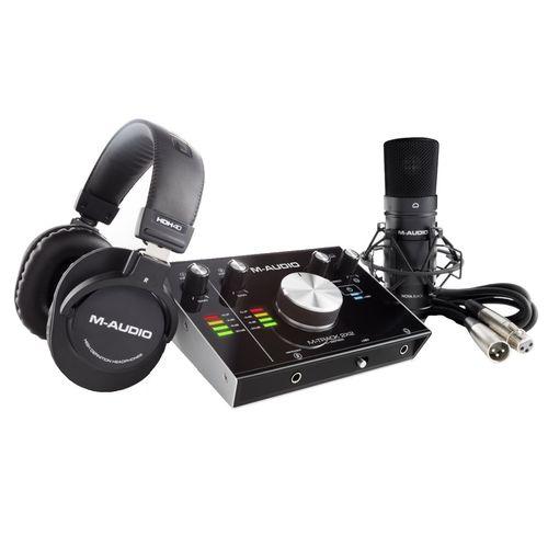 مجموعه تجهیزات ضبط صدای وکال ام-آدیو مدل M-Track 22 VSP