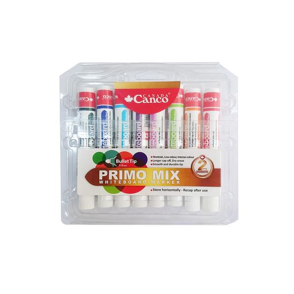 ماژیک وایت برد کنکو مدل Primo Mix بسته 8 عددی