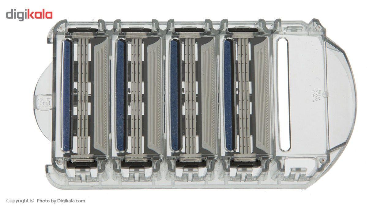 تیغ یدک سیلور مدل Reflex 3 بسته 4 عددی main 1 3