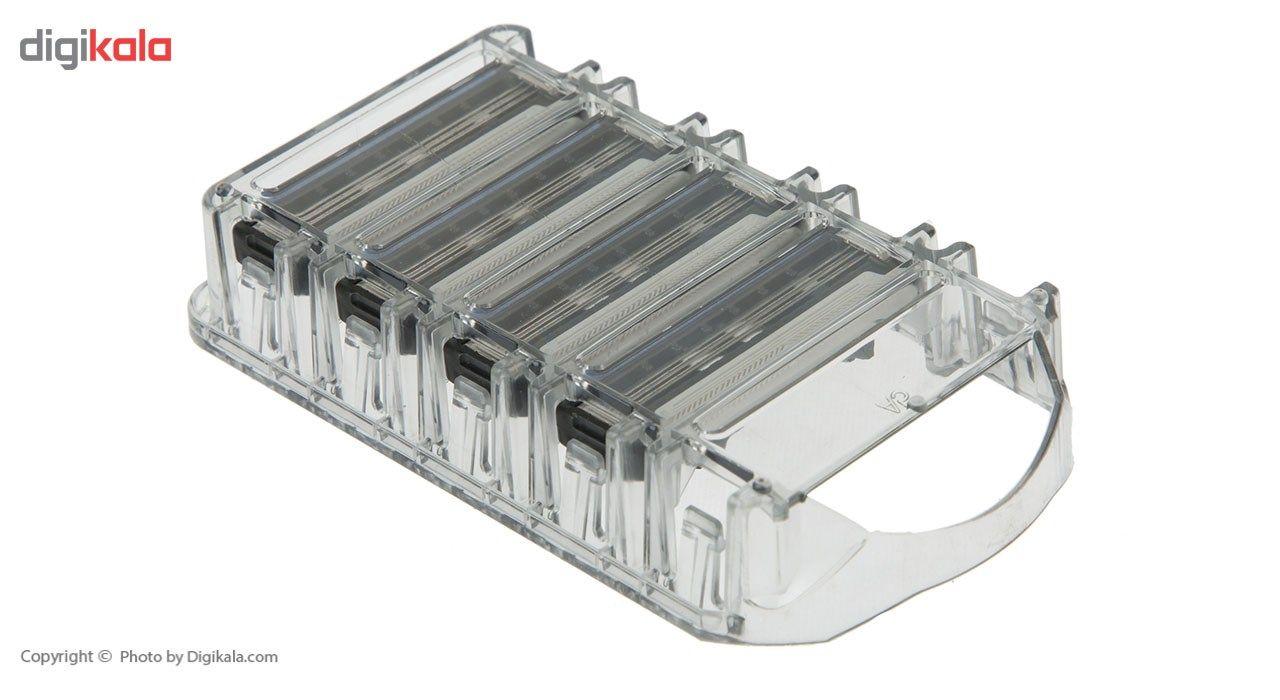 تیغ یدک سیلور مدل Reflex 3 بسته 4 عددی main 1 4
