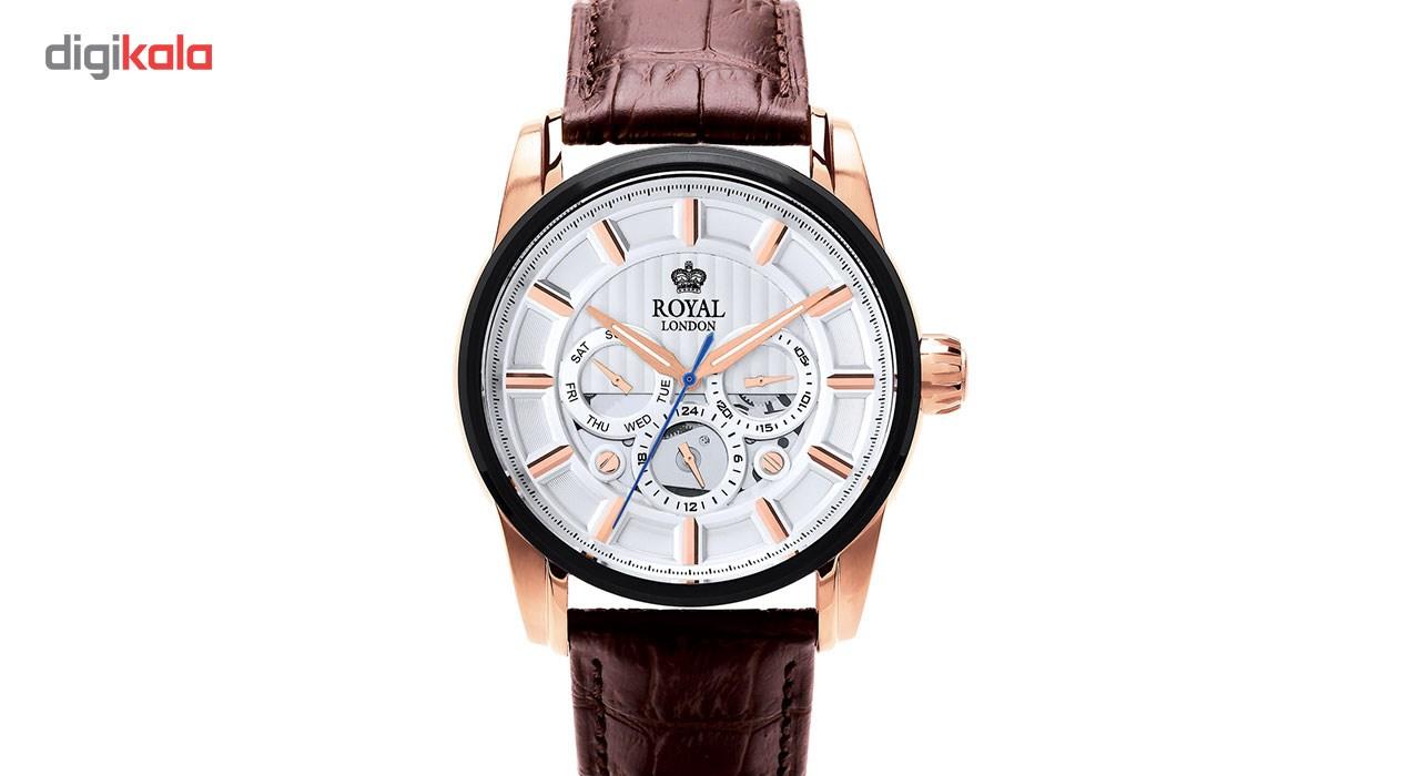 ساعت مچی عقربه ای مردانه رویال لندن مدل RL-41324-05              ارزان