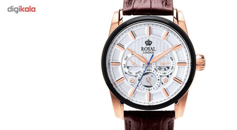 ساعت مچی عقربه ای مردانه رویال لندن مدل RL-41324-05
