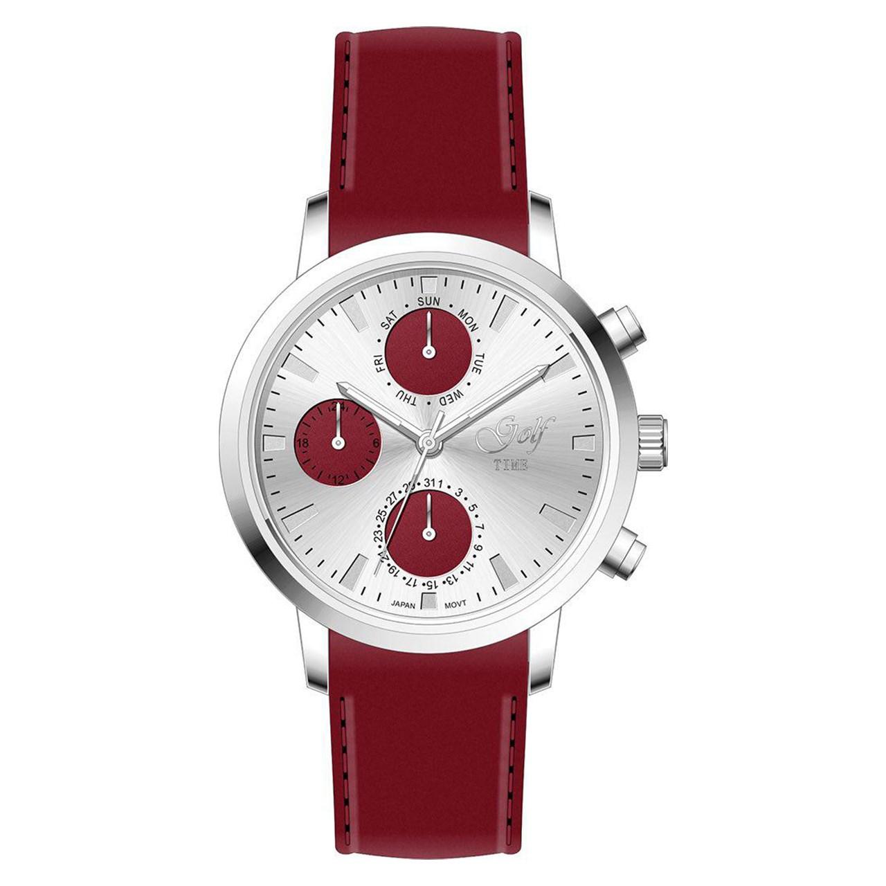 ساعت مچی عقربه ای   زنانه  گلف مدل 2-0218