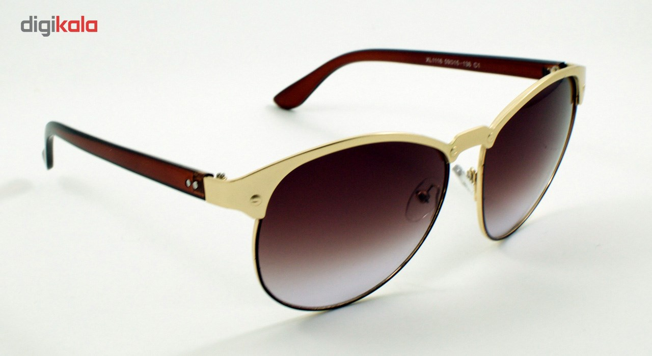 عینک آفتابی ویلی بولو مدل Golden Brown Reserved