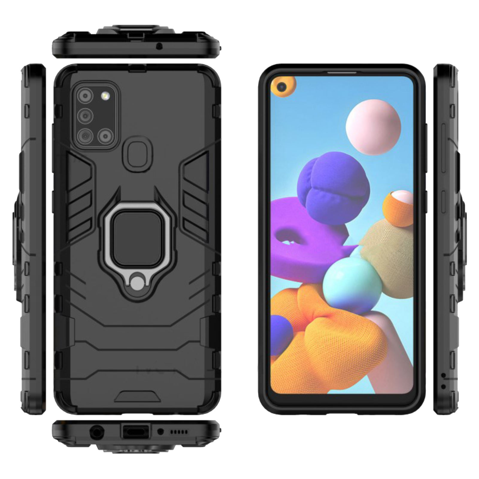 کاور مدل DEF02 مناسب برای گوشی موبایل سامسونگ Galaxy A21s