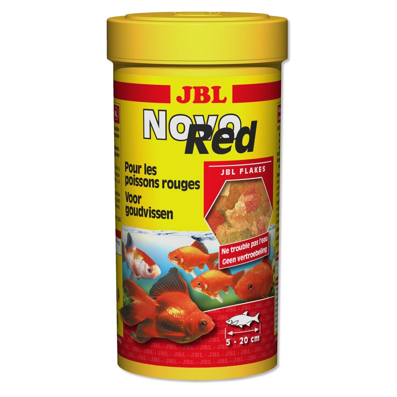 غذای گلدفیش جی بی ال مدل نوو رد 45 گرمی