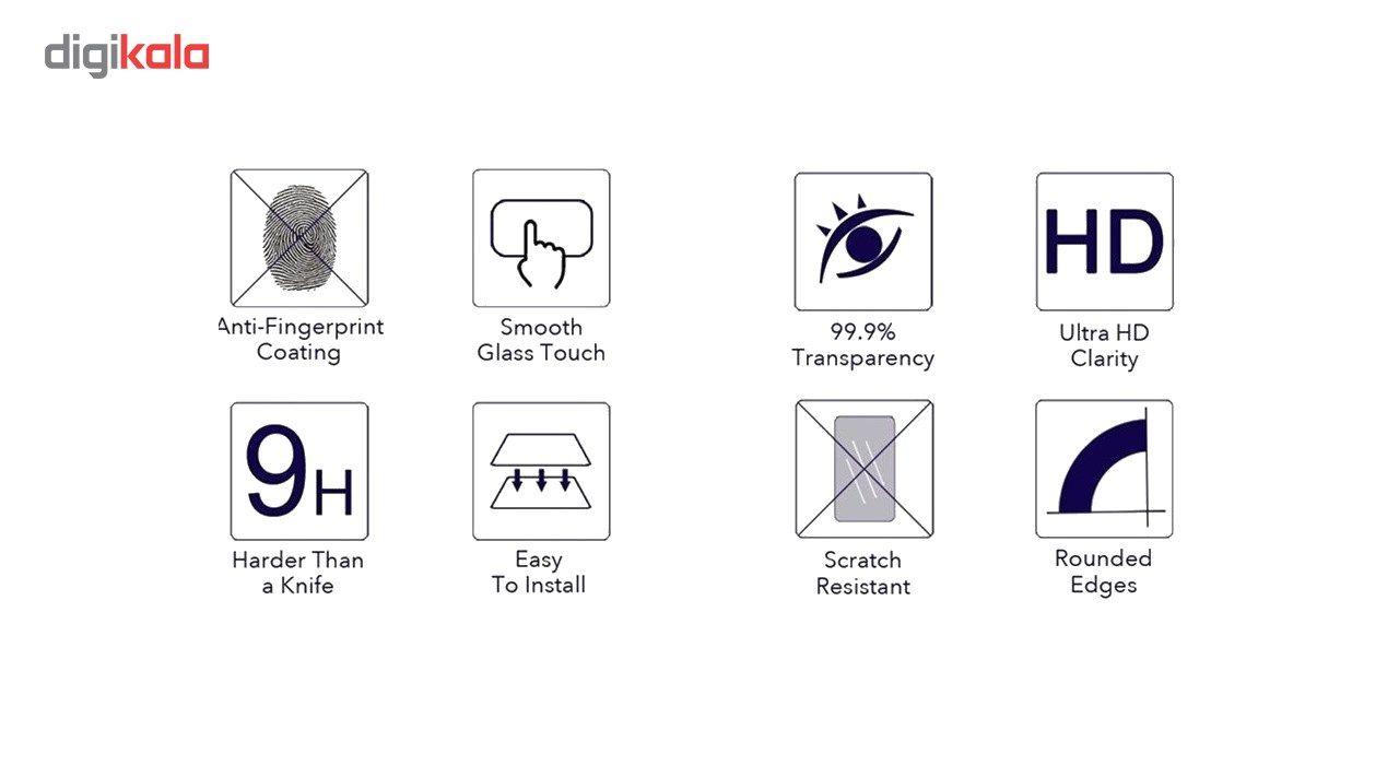 محافظ صفحه نمایش شیشه ای 9H  یونیفا مدل permium تمپرد مناسب برای Samsung Galaxy J2 main 1 2