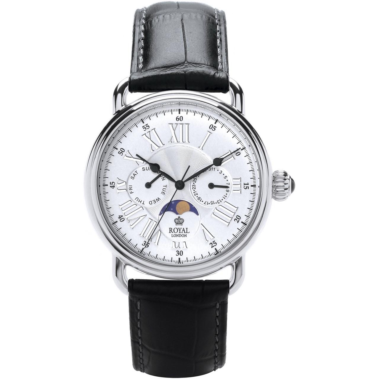 ساعت مچی عقربه ای مردانه رویال لندن مدل RL-41250-02 26