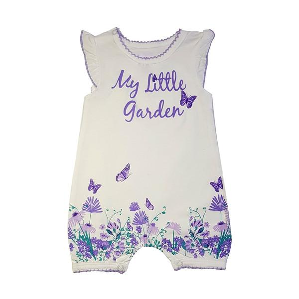 لباس نوزادی دخترانه طرح پروانه مدل 2668