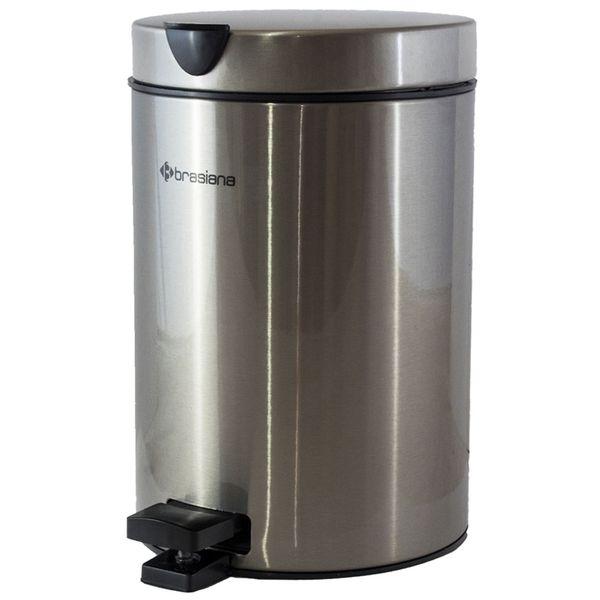 سطل زباله پدالی Brasiana ظرفیت 3 لیتری کد 13030079
