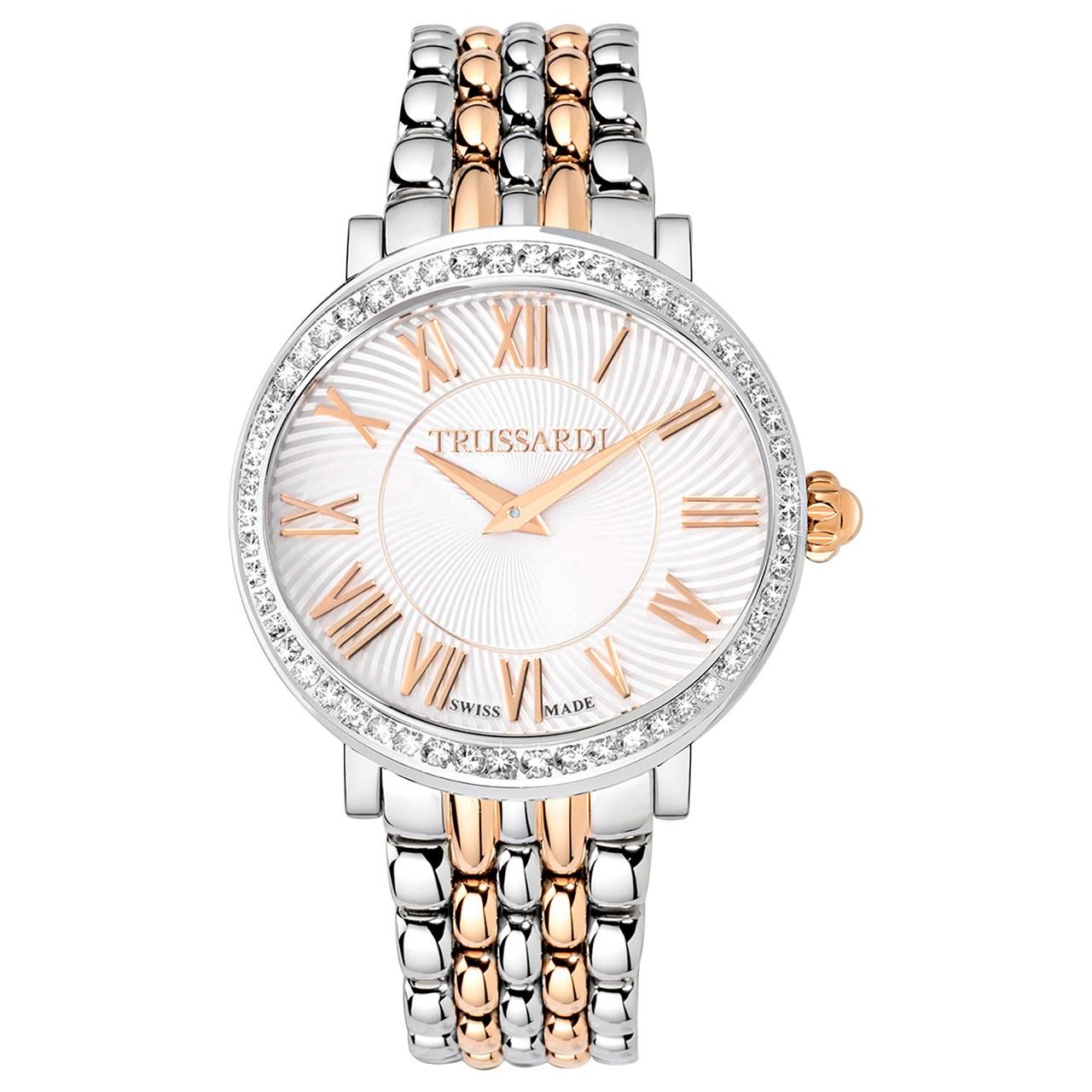 خرید ساعت مچی عقربه ای زنانه تروساردی مدل TR-R2453106504
