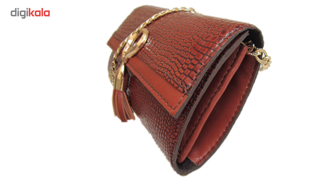 کیف مجلسی چرم دستدوز مژی مدل L2