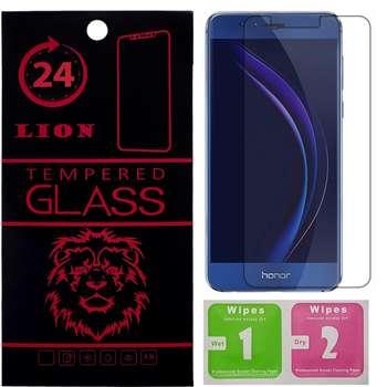 محافظ صفحه نمایش شیشه ای لاین مدل 2.5D مناسب برای گوشی هوآوی Honor 8