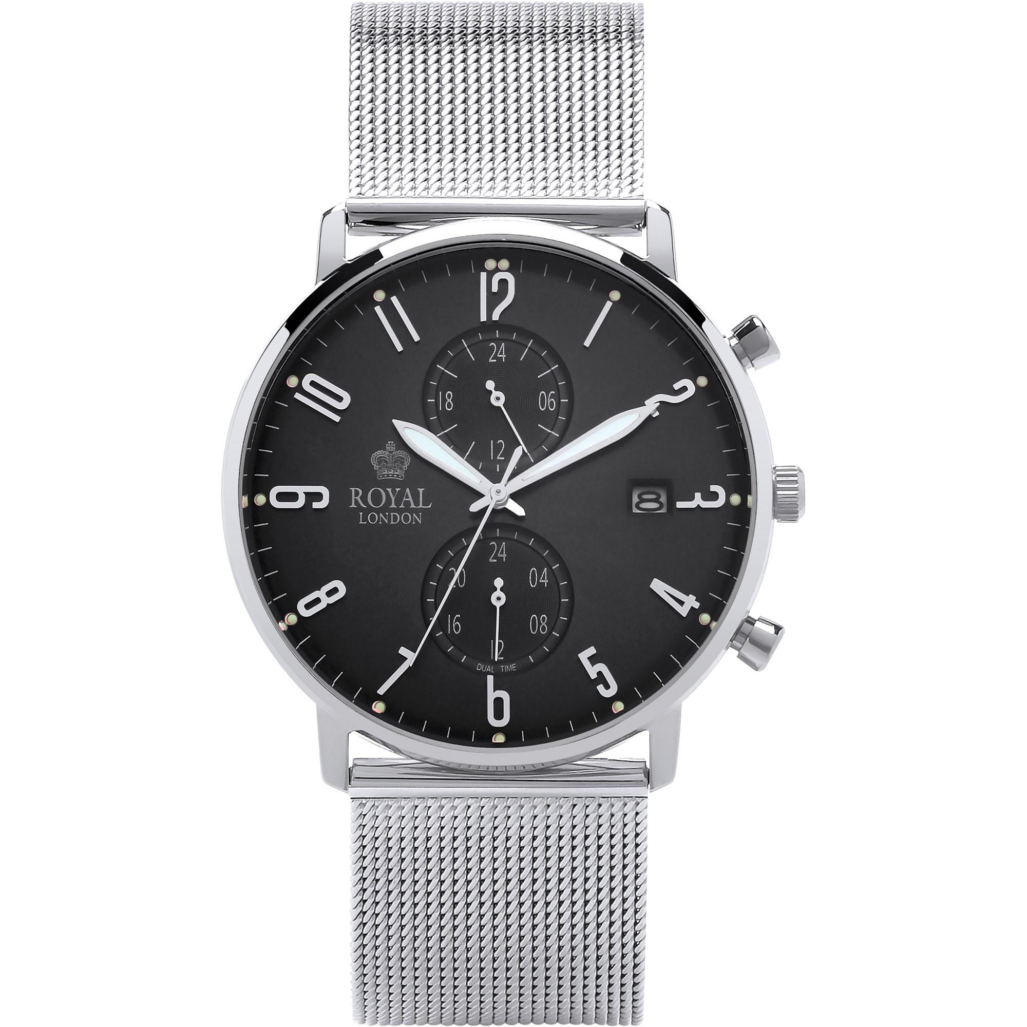 ساعت مچی عقربه ای مردانه رویال لندن مدل RL-41352-10