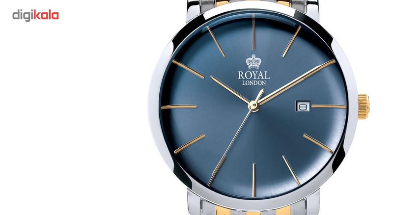 ساعت مچی عقربه ای مردانه رویال لندن مدل RL-41346-04