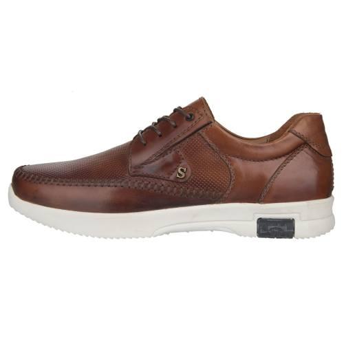 کفش مردانه چرم طبیعی استینگ مدل F2 عسلی