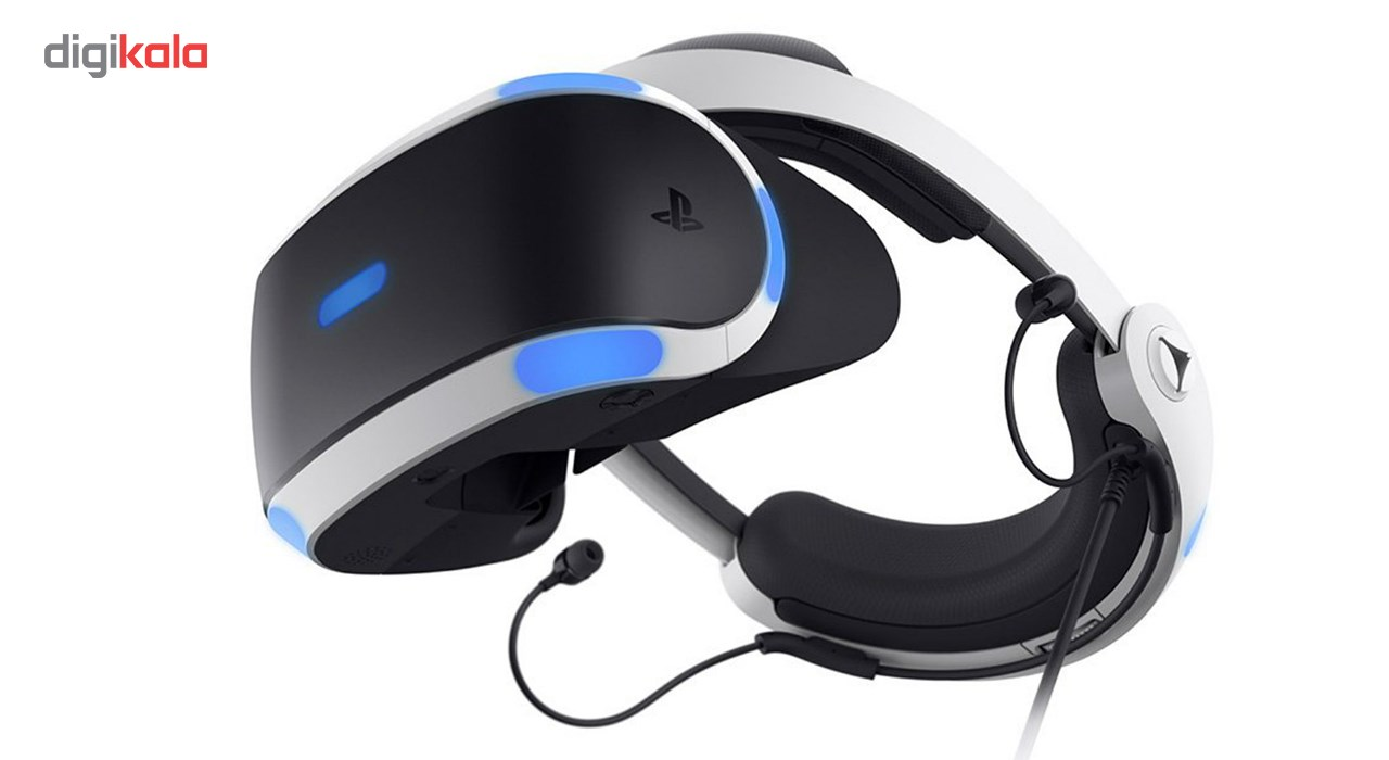 باندل عینک واقعیت مجازی سونی مدلPlayStation VR CUH-ZVR2 Bundle