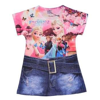 پیراهن دخترانه بیکسی یوان مدل011