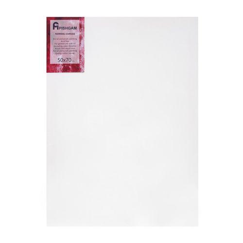 بوم ممتاز نقاشی پیشگام مدل دور سفید سایز 50x70 سانتی متر