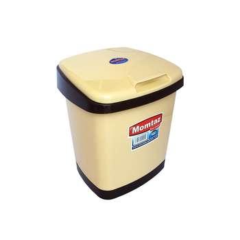 سطل زباله ممتاز پلاستیک مدل 4001 ظرفیت ۵ لیتری