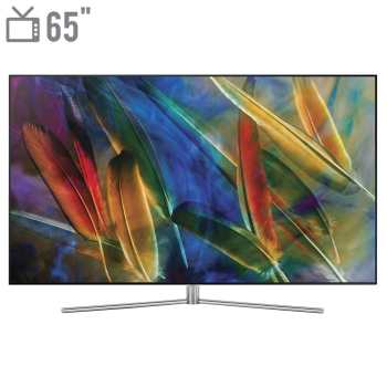 تلویزیون کیولد هوشمند سامسونگ مدل 65Q77 سایز 65 اینچ   Samsung 65Q77 Smart QLED TV 65 Inch