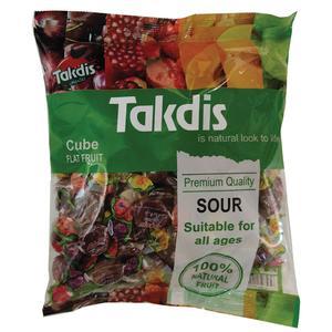 تافی ترش میوه ای تاکدیس - 1000 گرم