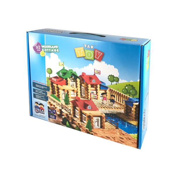 ساختنی 92 تکه مدل خانه جنگلی