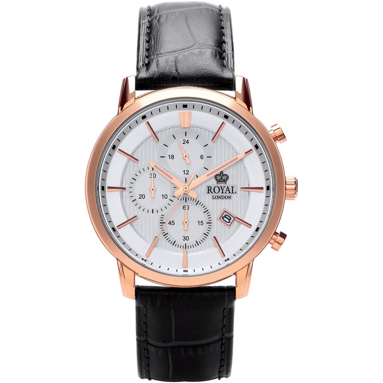 ساعت مچی عقربه ای مردانه رویال لندن مدل RL-41280-04