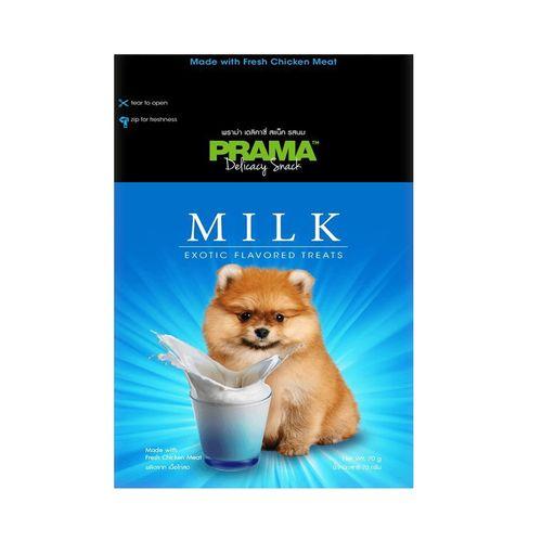 غذای خشک سگ پراما مدل تشویقی میلک