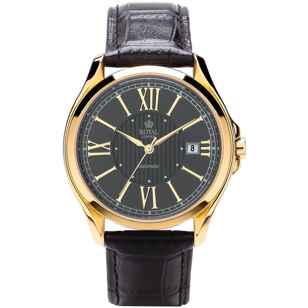ساعت مچی عقربه ای مردانه رویال لندن مدل RL-41152-04 55