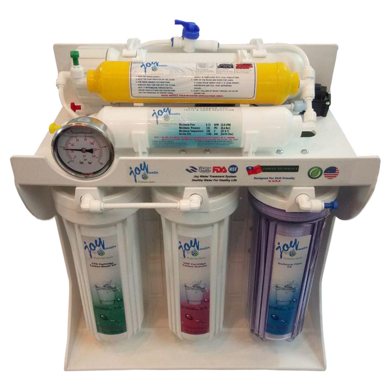 دستگاه تصفیه آب خانگی جوی واتر مدل JW-P6S