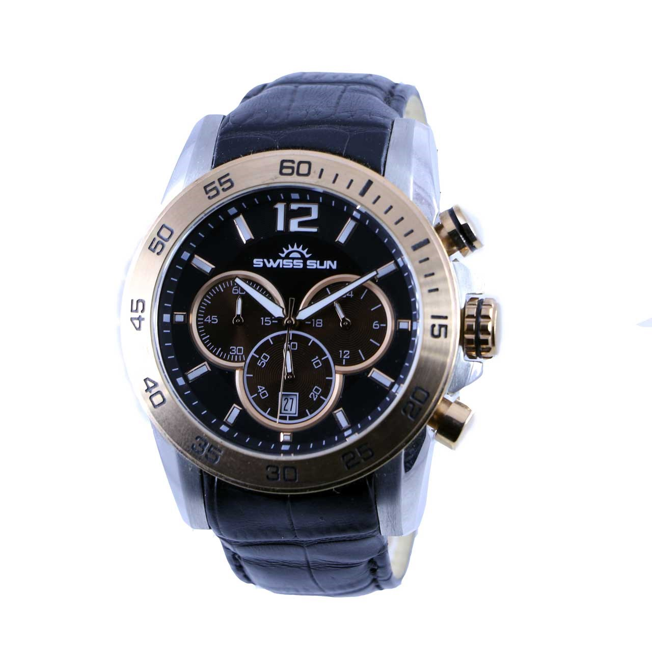 ساعت مچی عقربه ای مردانه سوئیس سان مدل g3282-g