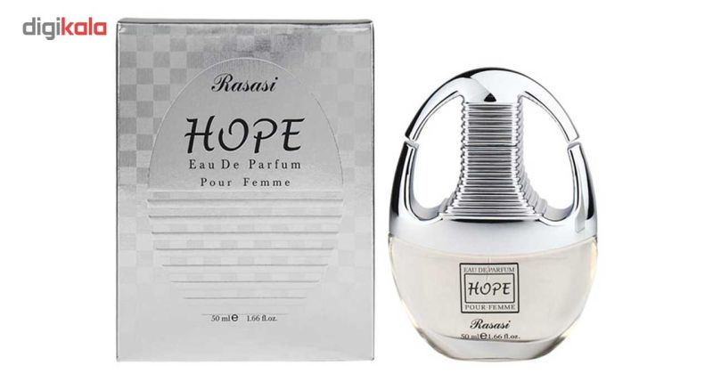 ادوپرفیوم زنانه رصاصی مدل Hope حجم 50 میلی لیتر