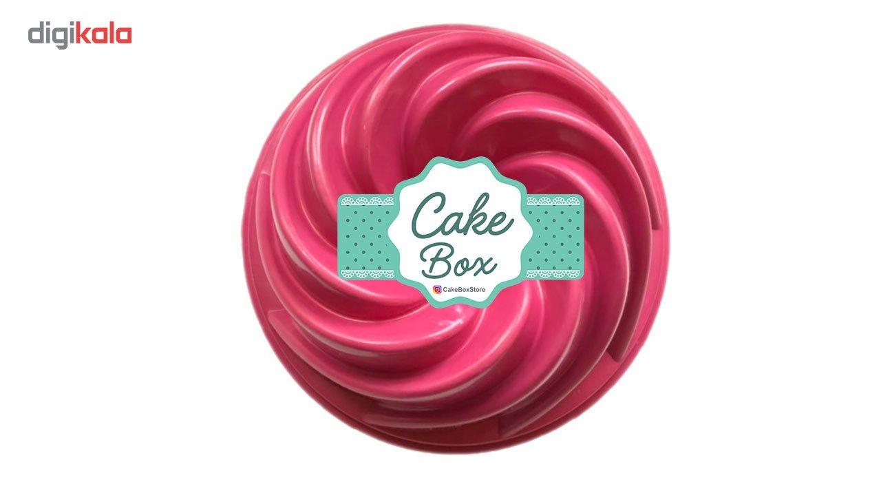 قالب پلاستیکی کیک و دسر کیک باکس کد 1027 main 1 3