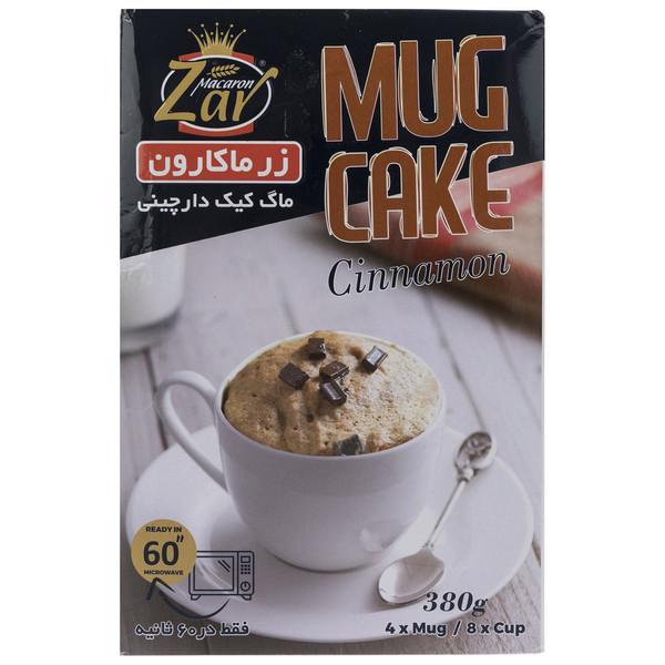 پودر ماگ کیک دارچینی زر ماکارون مقدار 380 گرم