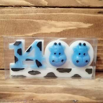 شمع مدل سال 1400 تندیس گاو