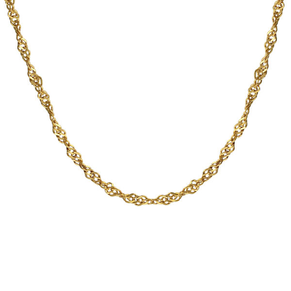 زنجیر طلا 18 عیار زنانه اقلیمه مدل ZT39