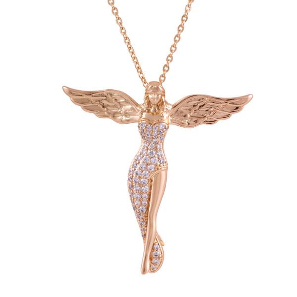 گردنبند زنانه ژوپینگ مدل فرشته کد N3135
