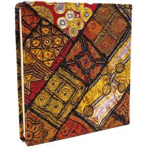دفتر یادداشت هیدورا طرح نقوش زیبا سایز بزرگ