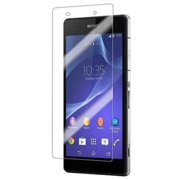 محافظ صفحه نمایش شیشه ای 9H  یونیفا مدل permium تمپرد مناسب برای Sony Xperia Z2
