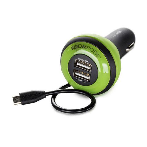 شارژر فندکی بوم پادز مدل Carpod به همراه کابل microUSB