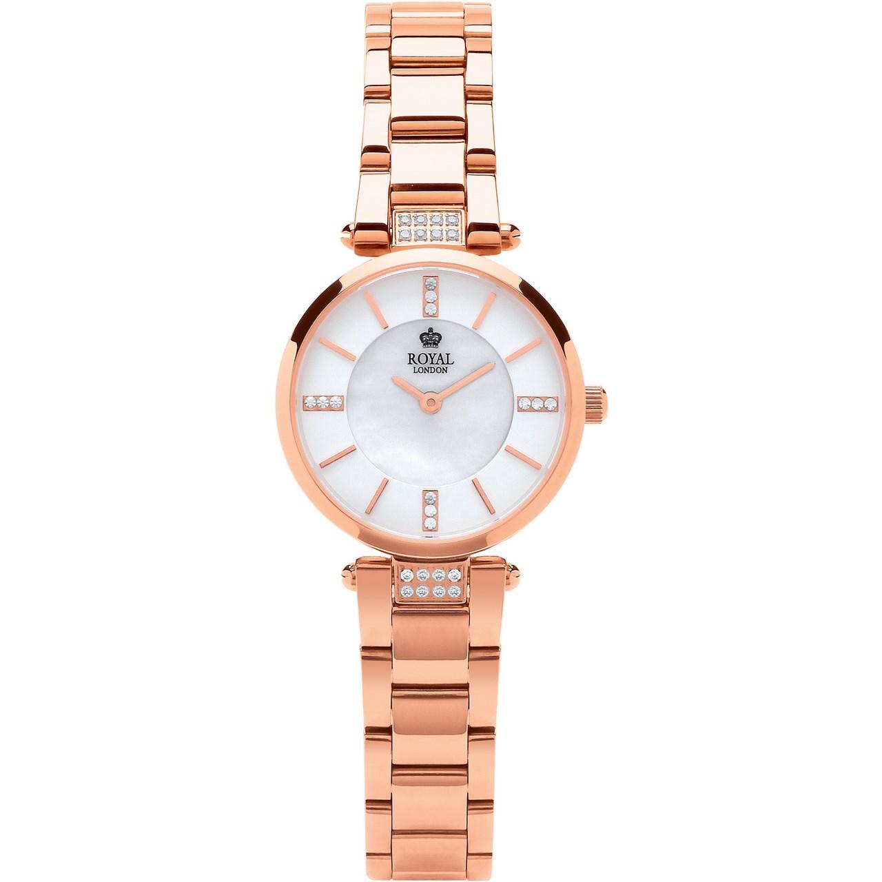 ساعت مچی عقربه ای زنانه رویال لندن مدل RL-21355-04