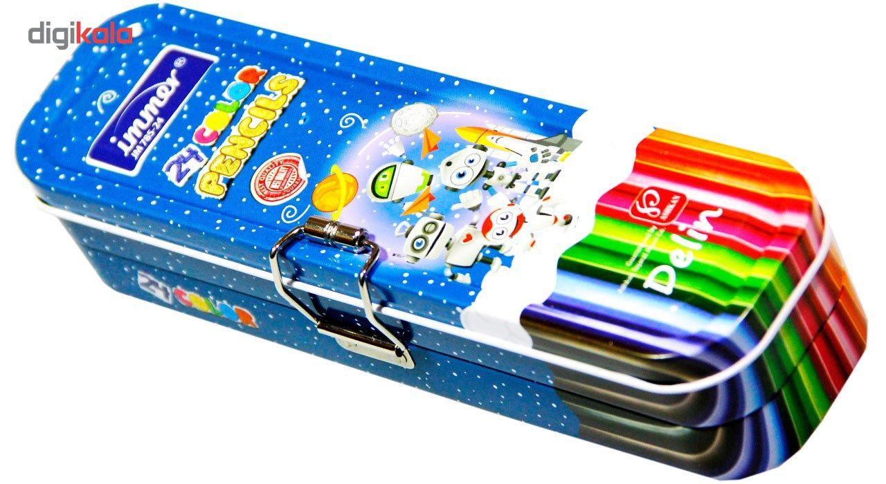 مداد رنگی 24 رنگ ایمر مدل JM 785-24 main 1 1