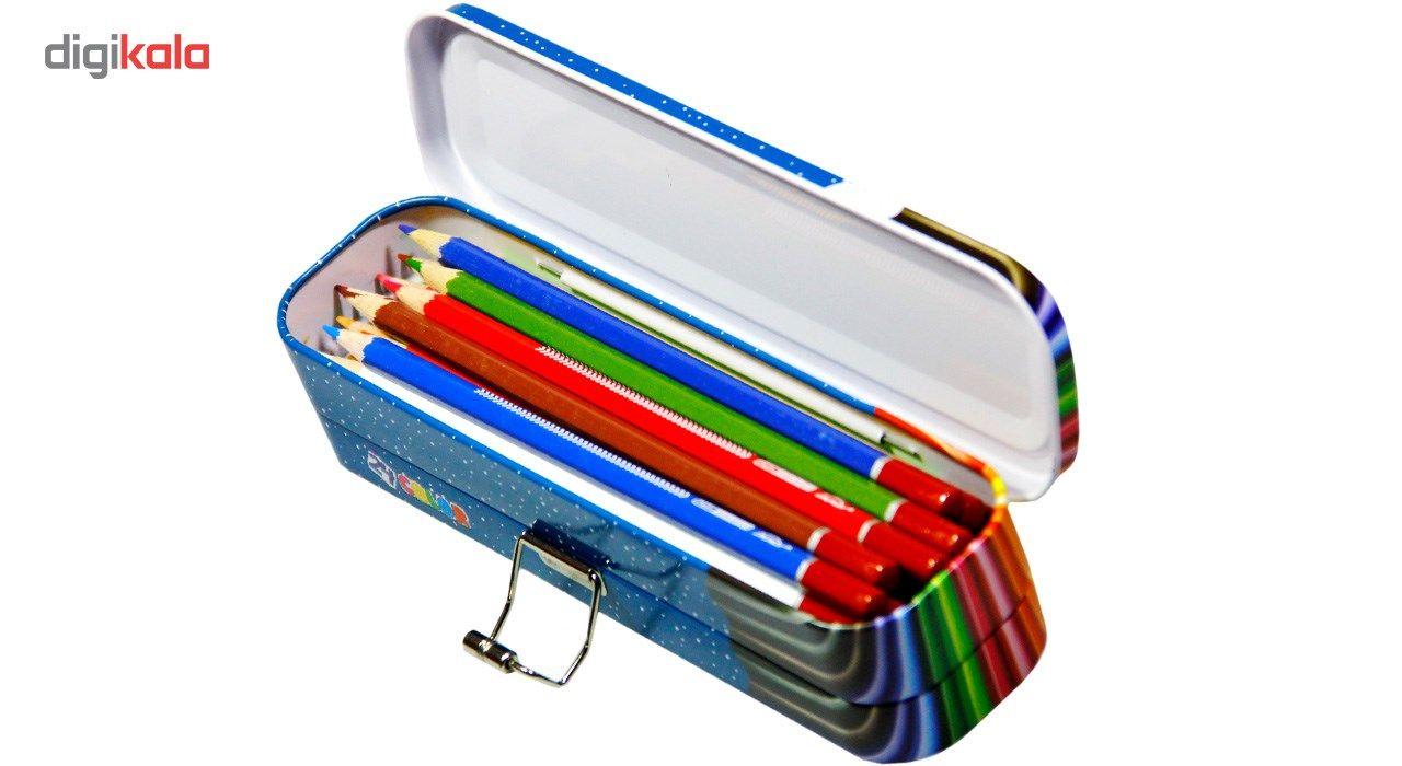 مداد رنگی 24 رنگ ایمر مدل JM 785-24 main 1 2