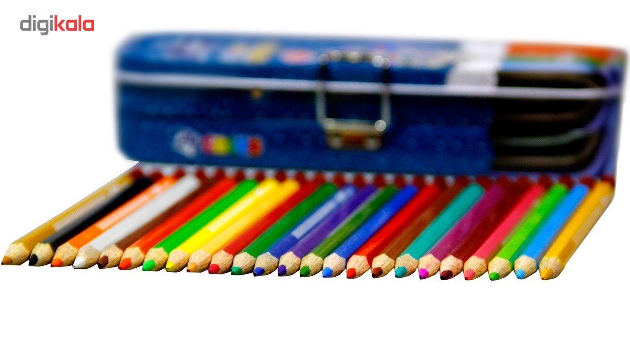 مداد رنگی 24 رنگ ایمر مدل JM 785-24 main 1 3