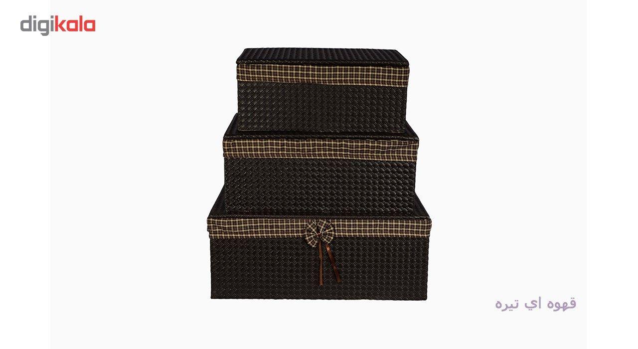 جعبه ارگانایزر شایگان مدل رونیز مجموعه 3 عددی main 1 5