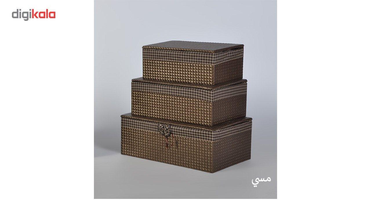 جعبه ارگانایزر شایگان مدل رونیز مجموعه 3 عددی main 1 6