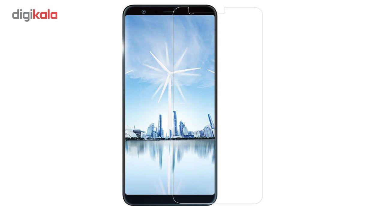 محافظ صفحه نمایش شیشه ای تمپرد مناسب برای گوشی موبایل ایسوس Zenfone Max Plus / ZB570TL main 1 1