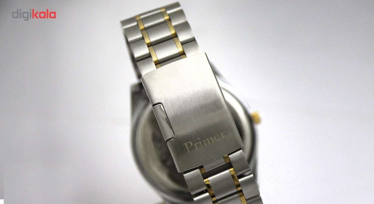 ساعت مچی عقربه ای مردانه پرایمر مدل PR-142-GG